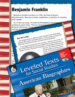 Leveled Texts: Benjamin Franklin