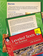 Leveled Texts: Biomes