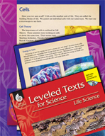 Leveled Texts: Cells