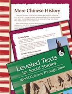 Leveled Texts: Chinese History