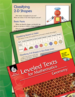 Leveled Texts: Classifying 2-D Shapes