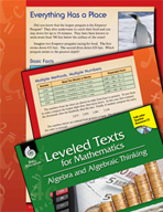 Leveled Texts: Comparing and Ordering Numbers-Everything Has a Place