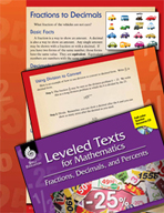 Leveled Texts: Converting Fractions to Decimals