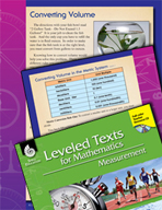 Leveled Texts: Converting Volume