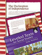 Leveled Texts: Declaration of Independence