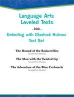 Leveled Texts - Detecting with Sherlock Holmes Text Set