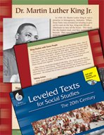 Leveled Texts: Dr. Martin Luther King Jr.