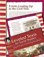 Leveled Texts: Events Leading Up to the Civil War