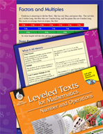 Leveled Texts: Factors and Multiples