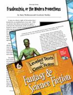 Leveled Texts: Frankenstein, or the Modern Prometheus