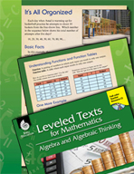 Leveled Texts: Function Tables-It's All Organized