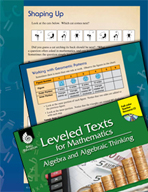 Leveled Texts: Geometric Patterns-Shaping Up