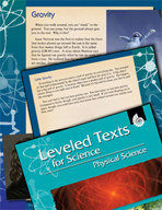 Leveled Texts: Gravity