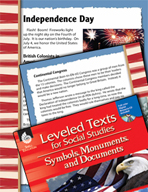 Leveled Texts: Independence Day