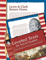 Leveled Texts: Lewis and Clark Return Home