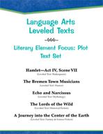 Leveled Texts - Literary Element Focus: Plot Text Set