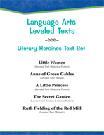 Leveled Texts - Literary Heroines Text Set