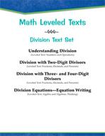 Leveled Texts - Master Math: Division Text Set