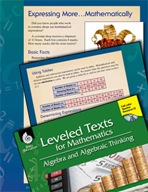Leveled Texts: Mathematical Expressions-Expressing More .