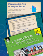 Leveled Texts: Measuring Area of Irregular Shapes