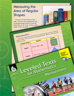 Leveled Texts: Measuring Area of Regular Shapes