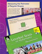 Leveled Texts: Measuring Perimeter of Regular Shapes