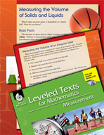 Leveled Texts: Measuring Volume of Solids and Liquids