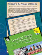 Leveled Texts: Measuring the Weight of Objects