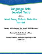 Leveled Texts - Meet Penny Nichols, Detective Text Set