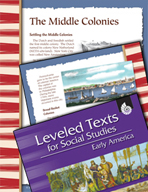 Leveled Texts: Middle Colonies