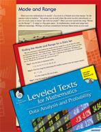 Leveled Texts: Mode and Range