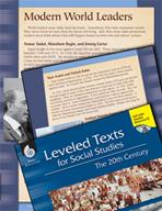 Leveled Texts: Modern World Leaders
