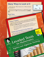 Leveled Texts: Multiple Representations-Many Ways to Look at It