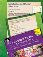 Leveled Texts: Multiplication and Division of Fractions