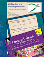 Leveled Texts: Multiplying and Dividing Decimals