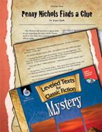 Leveled Texts: Penny Nichols Finds a Clue