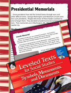Leveled Texts: Presidential Memorials