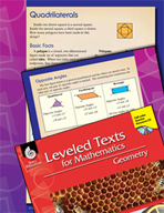 Leveled Texts: Quadrilaterals