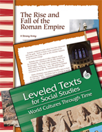 Leveled Texts: Rise and Fall of the Roman Empire