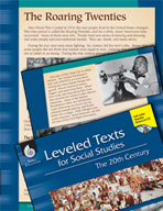 Leveled Texts: Roaring Twenties