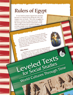 Leveled Texts: Rulers of Egypt