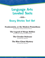 Leveled Texts - Scary Stories Text Set