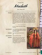 Leveled Texts Shakespeare - Macbeth - Act I, Scene VII