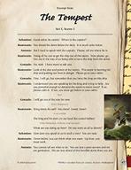 Leveled Texts Shakespeare - The Tempest - Act I, Scene I