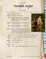 Leveled Texts Shakespeare - Twelfth Night - Act I, Scene II