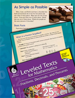 Leveled Texts: Simplifying Fractions-As Simple as Possible