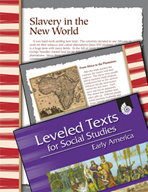 Leveled Texts: Slavery in the New World