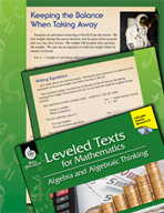Leveled Texts: Subtraction Equations-Keeping the Balance When Taking Away