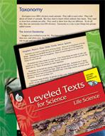 Leveled Texts: Taxonomy