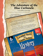Leveled Texts: The Adventure of the Blue Carbuncle